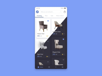 Furniture store inspiration flatdesign video ikea animation gif design uiux mobile photoshop illustration ecommerce ui  ux design interface sketch uidesign