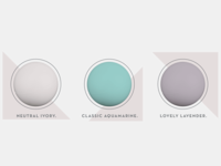 Aquamate Color Samples