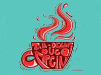 Coffee Coaster | Tall Decaf Cappuccino