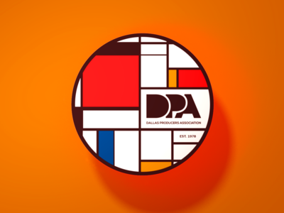 DPA Sticker : Mondrian