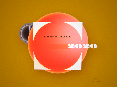 2 O 2 O retro resolutions cinema c4d 3d render new year 2020