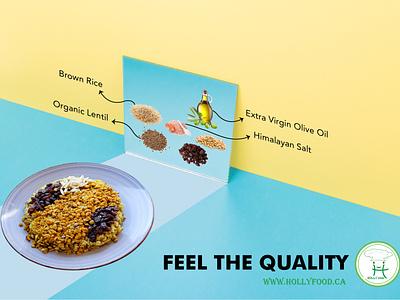 Healthy Food Ad healthy healthy eating food advertising minimal branding advertise healthyfood