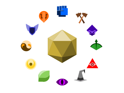 Dungeons and Dragons Icons