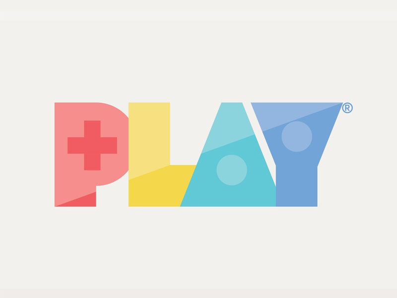 PLAY type video game charity kids logo