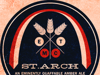 Symmetrical Beer Label