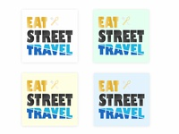 Eat Street Travel Logo Exploration