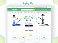 Hookahs Website Design #wip