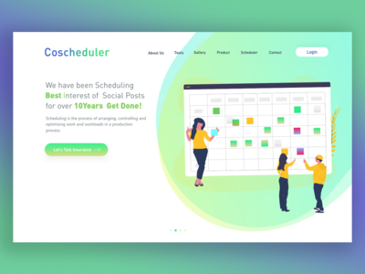 Coscheduler landing page