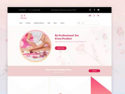 WAX Ecommerce Store | Freebie