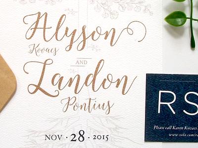 Landon & Alyson 2