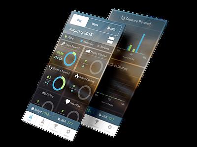 Fitness Tracker + App