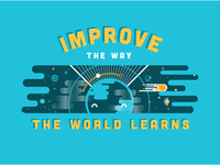 Improve the way the World Learns Wall Decal