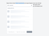 Text linking experience - link change and @ shortcut [prototype]