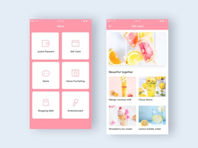 Small and refreshing design