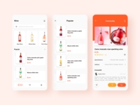 Red Wine Purchase Interface