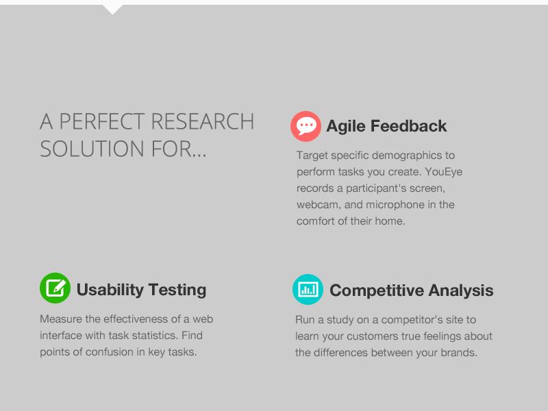 YouEye Site Homepage re-design, concept.1 ux design visual design art direction homepage concept canned