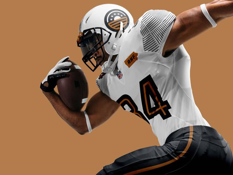 Iowa Field Generals pattern illustration brand logo jersey uniform football