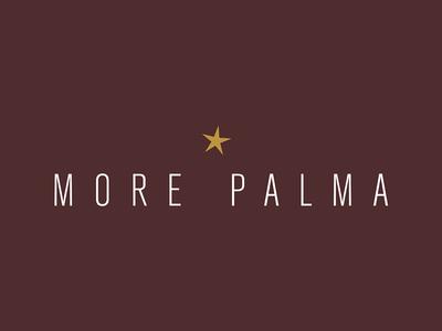 More Palma graphic design print branding logo