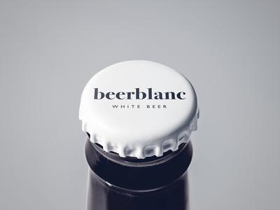 Beer Blanc graphic design logo branding