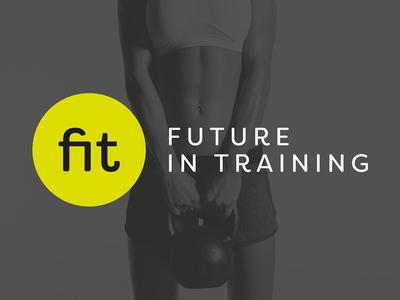 FIT Future in Training advertising print branding graphic design logo