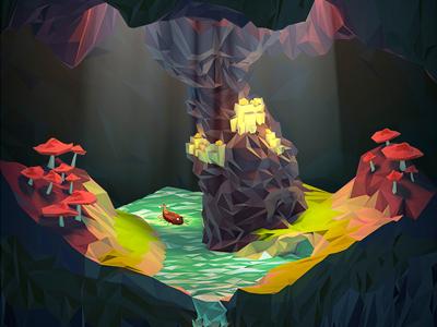 Cavedribbble
