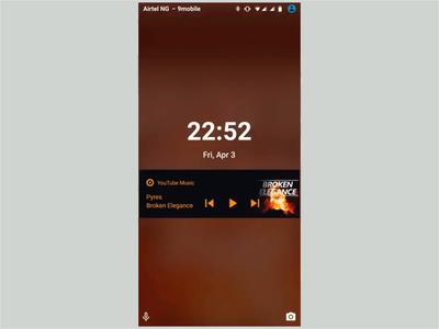 Lock Screen Interaction