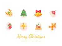 Christmas' icons