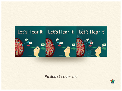 Podcast Cover - 3 cover design cover artwork cover art fiverr design fiverrgigs fiverr.com fiverrs fiverr podcasting podcast logo podcast art podcasts podcast branding art vector digital design illustration illustrator