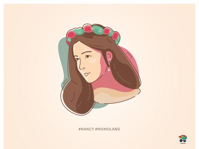 Portrait of Nancy