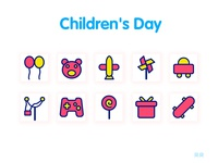 Children's day icon