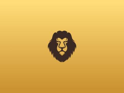 Lion Head logo a day logo mark logo logo design
