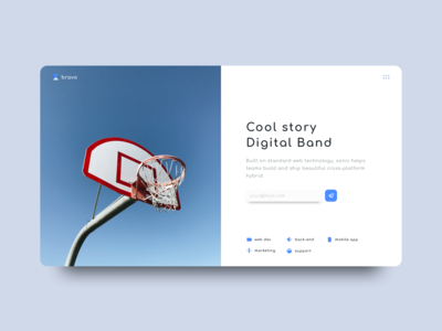 Bravo - Digital Agency (white theme)