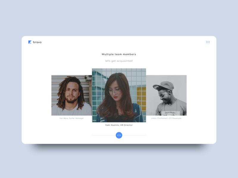 Bravo - Digital Agency (white theme) minimal ux  ui web sketch clean design