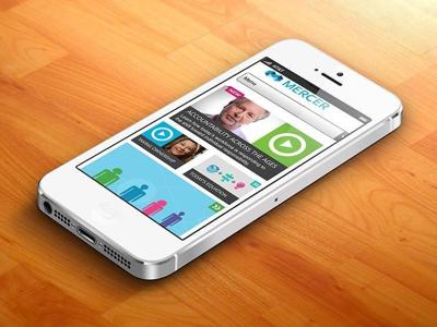 Mercer Making Accountability Work mobile site