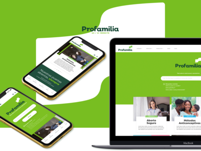 UX / UI Profamilia Website Case