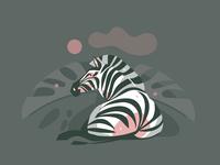 Zebra Collage