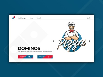 Domino's Netherlands - Web Design