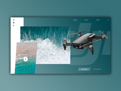 DJI Mavic Air - Web Design
