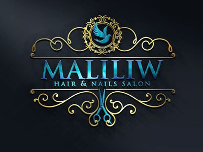 Logo Maliliw Hair And Nails Salon By Roland Ali Pantin On Dribbble