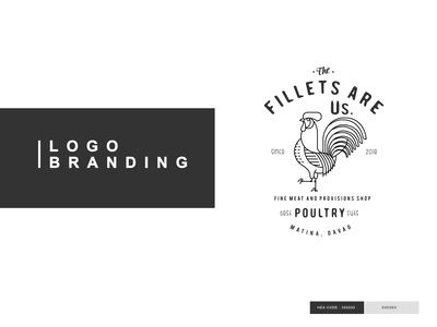 F I L L E T ' S R USLogo Branding Designs