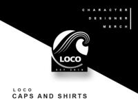 Loco Caps and Shirt Branding