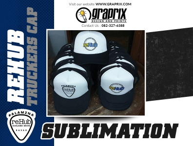 REHUB 30 pcs. Truckers Cap Sublimation Printing