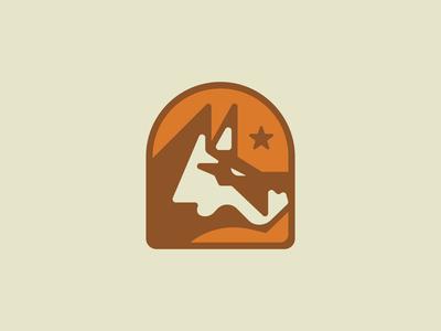 Scrap pile wolf logo wolfpack wolf logo logos scrap rough star outdoors animal logo wolf logodesign logo branding design