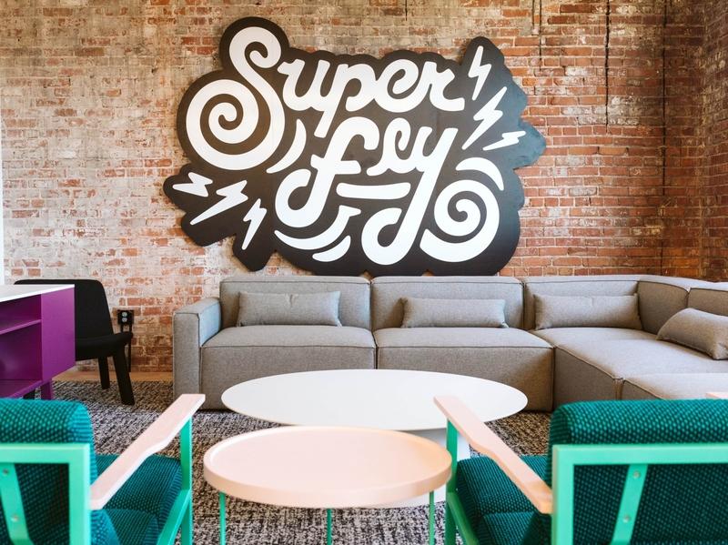 Super Fly art type handmadetype illustration