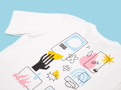 Create Together collaboration art illustration shirt handmade design create graphic design