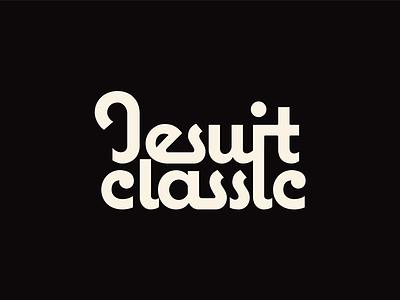 Text Treatment logo jesuit basketball classic