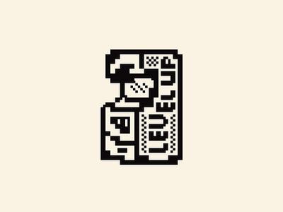 Level Up Machine arcade levels pixels logo