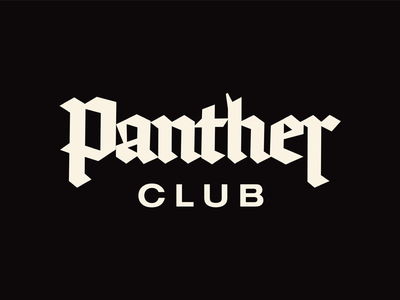 Panther Club panther club brand clothing