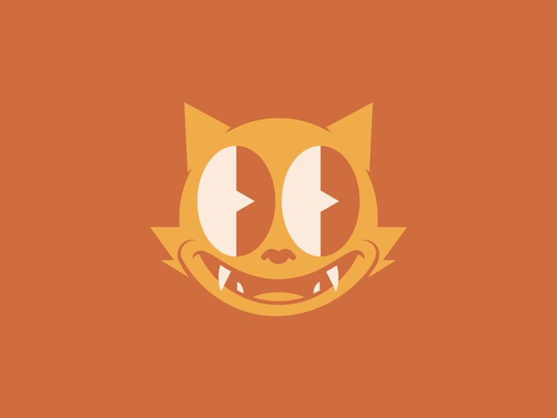 Baby Panther illustration cartoon cat panther