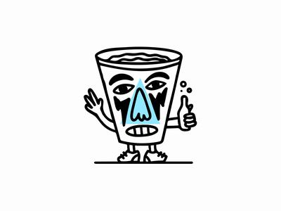 Cup Illustration bottle cup illustraion